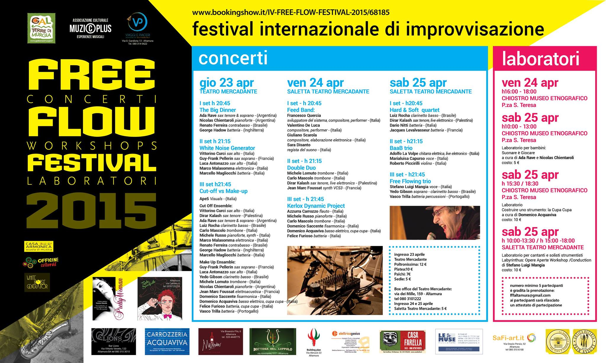 IV Free Flow Festival - program