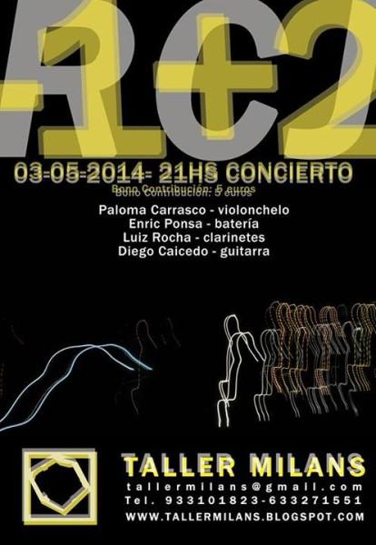 RCJ with Enric Ponsa and Paloma Carrasco at Taller Milans