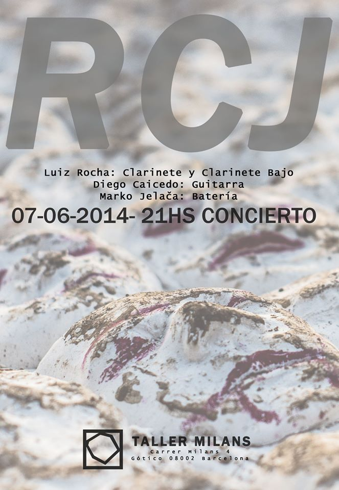 RCJ @ Taller Milans, June 2014 - cover