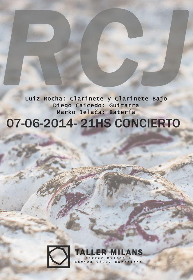 RCJ @ Taller Milans, June 2014 - cover