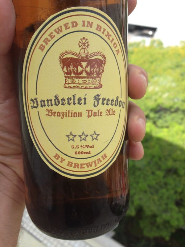 Vanderlei Freedom - Brazilian Pale Ale by BrewJah