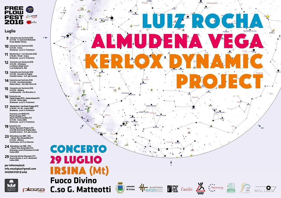 Luiz Rocha and Almudena Vega with Kerlox Dynamic Project - Free Flow Festival