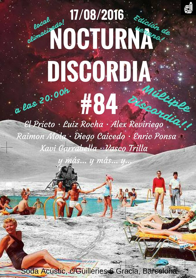 Nocturna Discordia #84 - Festas de Gracia