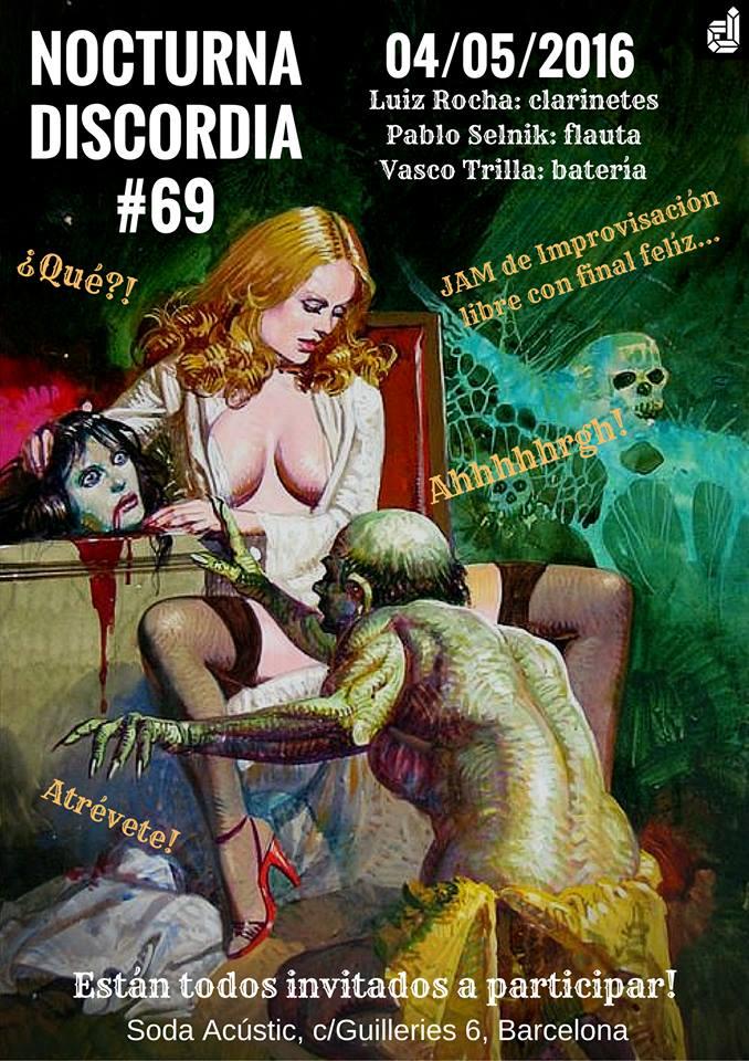 Free Improvisation Jam - Nocturna Discordia 69
